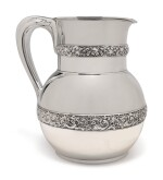 AN AMERICAN SILVER PITCHER, TIFFANY & CO., NEW YORK, CIRCA 1878