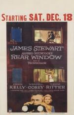 Rear Window (1954) poster, US