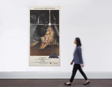 STAR WARS (1977) POSTER, US