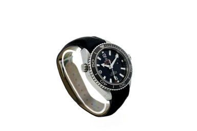 View 3. Thumbnail of Lot 305. OMEGA   SEAMASTER,  A STAINLESS STEEL AUTOMATIC CENTER SECONDS WRISTWATCH WITH DATE, CIRCA 2010.