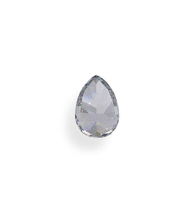 View 4. Thumbnail of Lot 1. A 1.02 Carat Fancy Blue Pear-Shaped Diamond, SI2 Clarity.