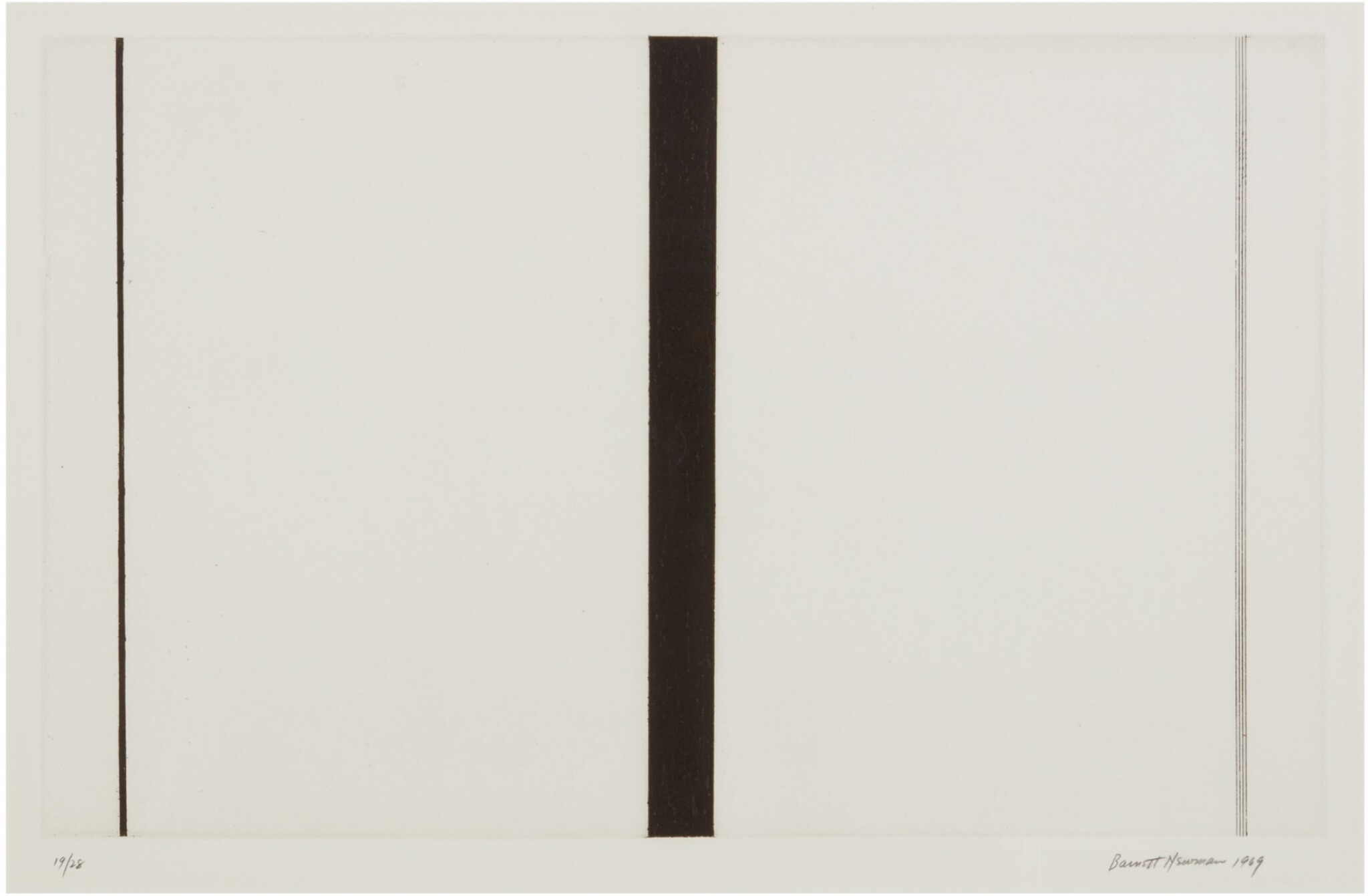 View 1 of Lot 204. BARNETT NEWMAN | UNTITLED ETCHING 1.