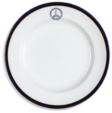Dinner plate from the British Antarctic Expedition (Terra Nova), 1910-1913 | Dunn Bennett Patent