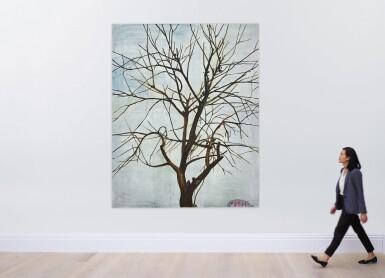 View 5. Thumbnail of Lot 30. Zhang Enli 張恩利 | Tree in Winter 1 冬天的樹 1.