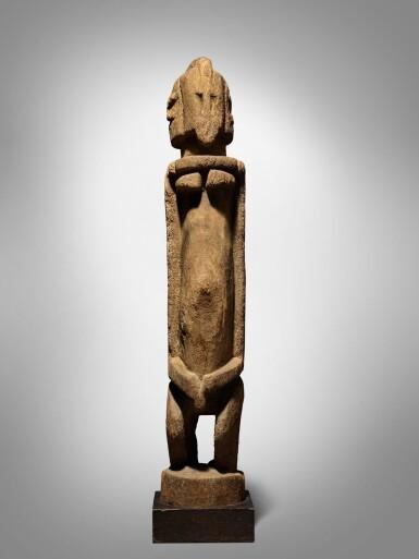 View 2. Thumbnail of Lot 60. Dogon Figure, Mali.