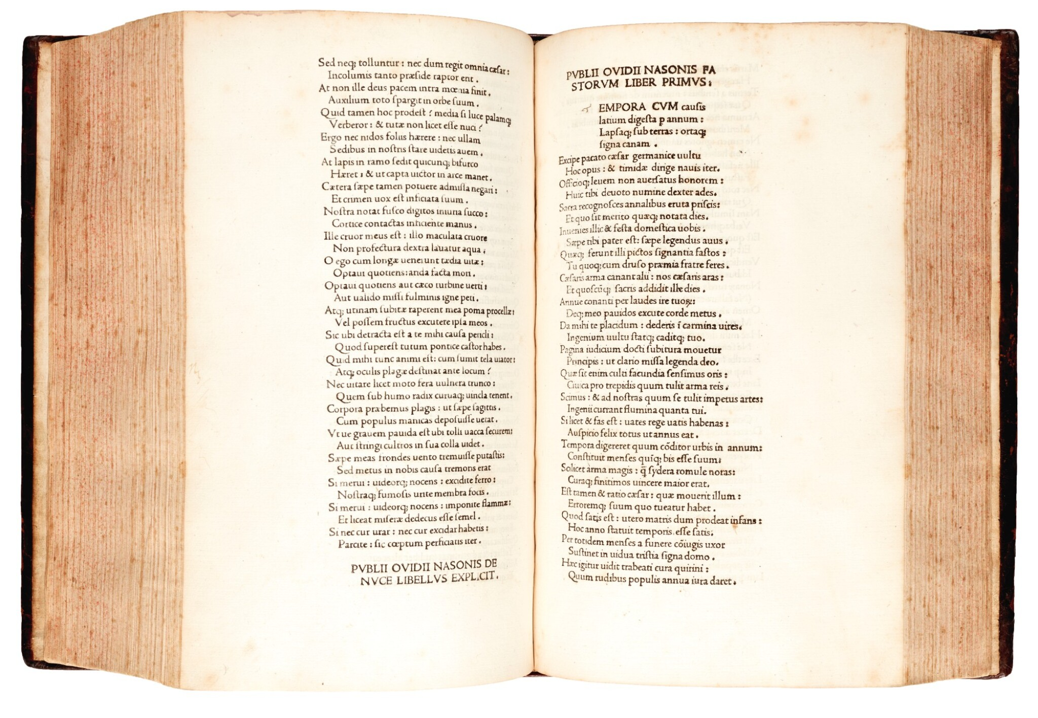 View full screen - View 1 of Lot 233. Ovid, Opera, Venice, 1474, later calf.