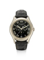 PATEK PHILIPPE | REFERENCE 5035, A WHITE GOLD ANNUAL CALENDAR WRISTWATCH WITH 24 HOURS INDICATION, CIRCA 2000