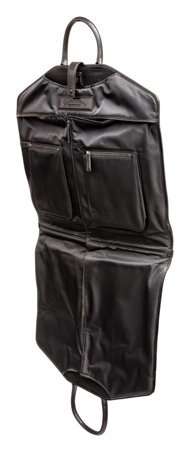 View 3. Thumbnail of Lot 617. A. LANGE & SÖHNE | A BLACK LEATHER AND POLYFABRIC GARMENT BAG, CIRCA 2012.