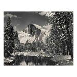 Half Dome, Merced River, Winter, Yosemite Valley