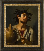 PSEUDO-TOMMASO SALINI  |  PORTRAIT OF A YOUNG MAN AS BACCHUS
