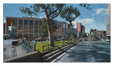 View 1. Thumbnail of Lot 26. RICHARD ESTES | BROADWAY AND 64TH, SPRING '84.