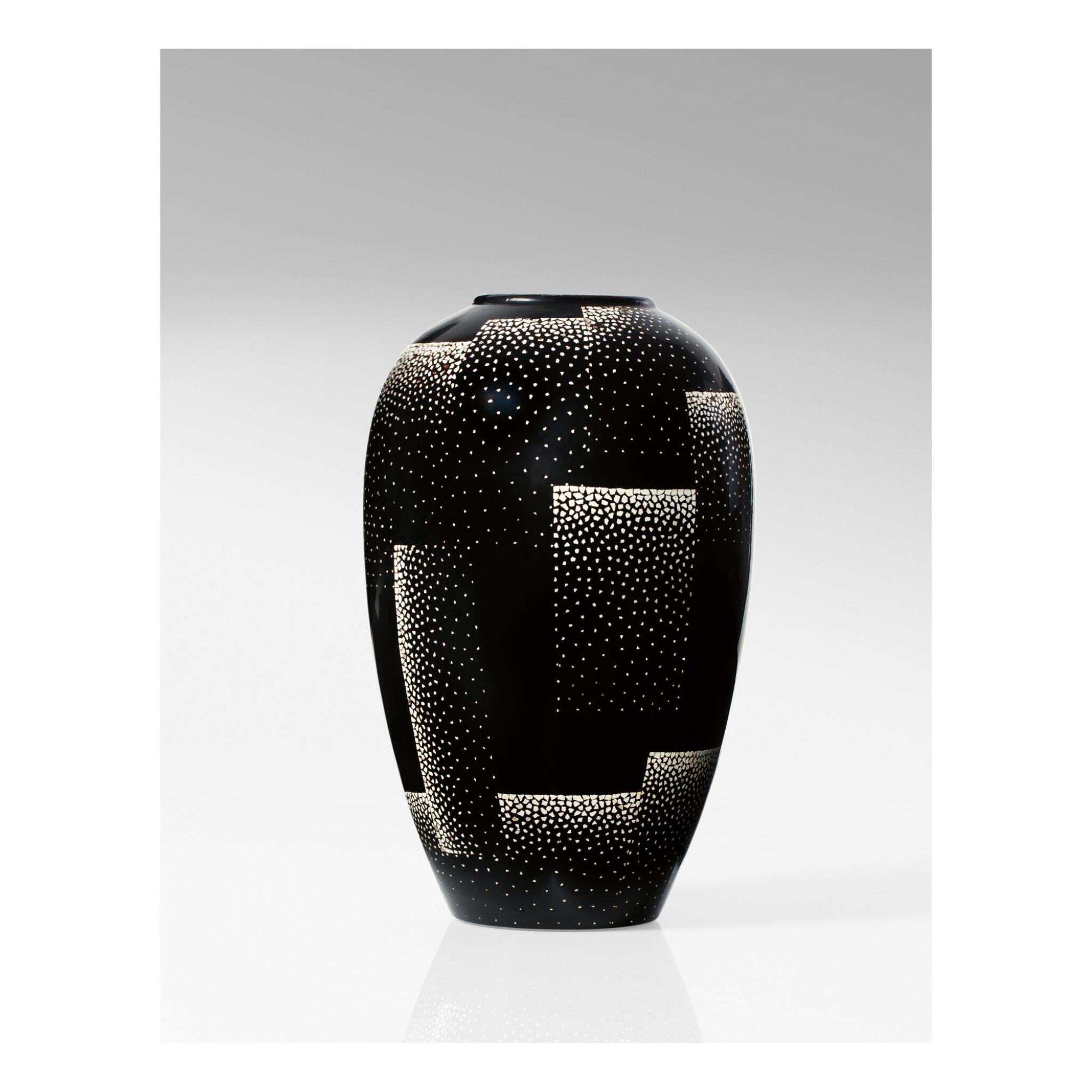 View full screen - View 1 of Lot 21. JEAN DUNAND   VASE.
