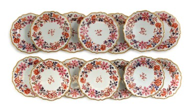A WORCESTER (FLIGHT, BARR & BARR) IMARI PART-SERVICE, CIRCA 1820