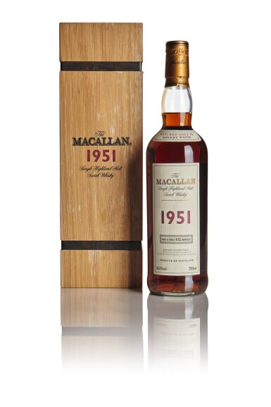 THE MACALLAN 48.8 ABV 1951