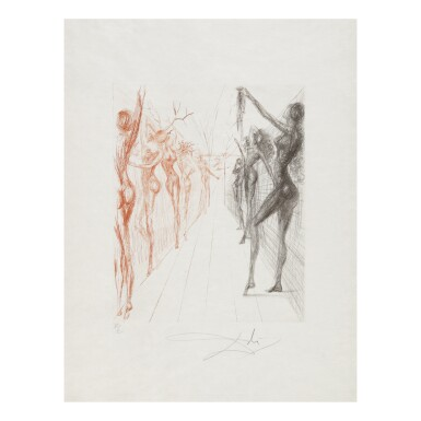 View 7. Thumbnail of Lot 93. SALVADOR DALÍ   THE HIPPIES (MICHLER & LÖPSINGER 377-387; FIELD 69-13).