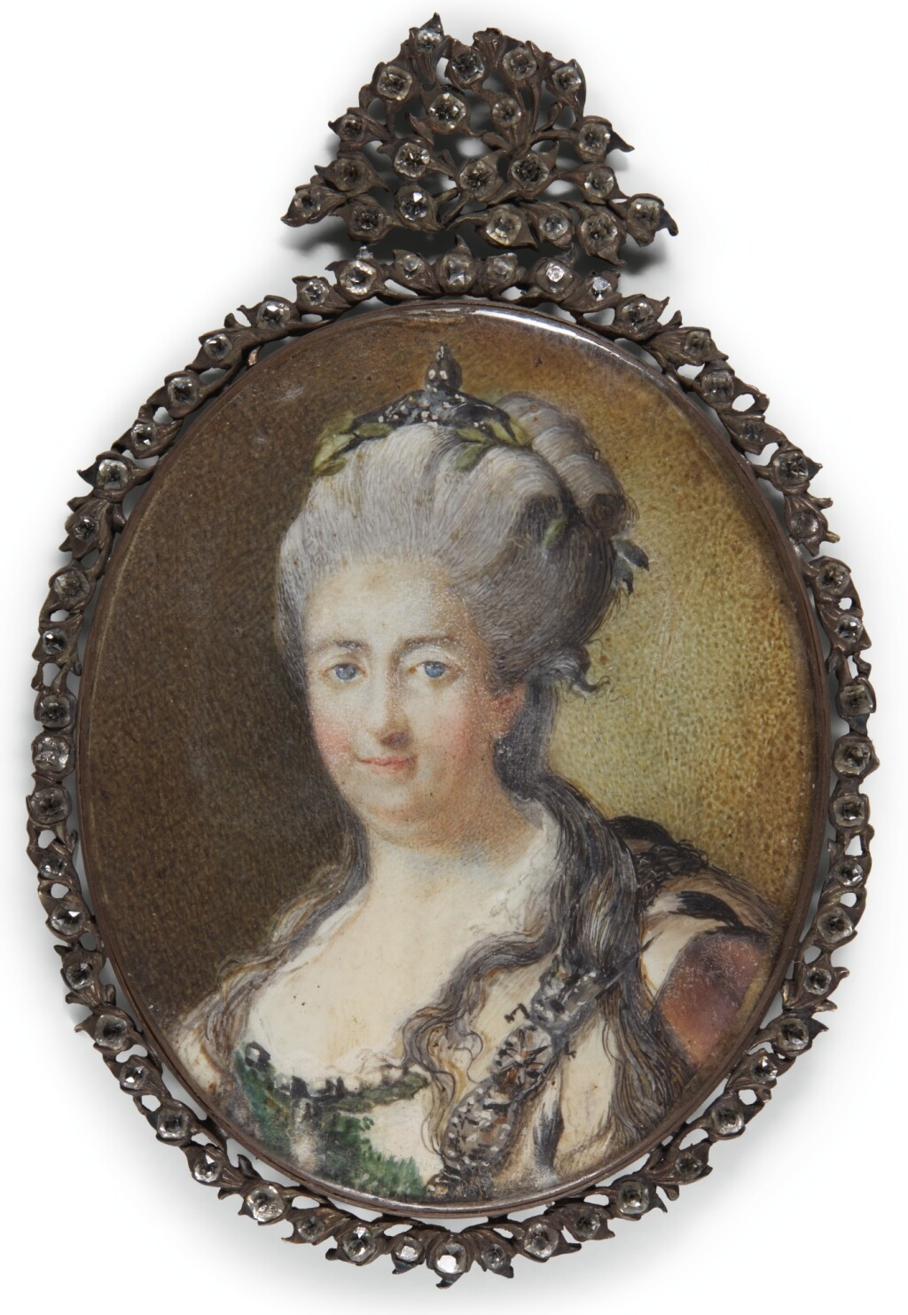 AFTER JOHANN BAPTIST LAMPI, THE ELDER | Portrait of Catharine, Empress of Russia (1729-1796)