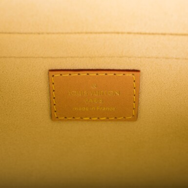 View 10. Thumbnail of Lot 85. LOUIS VUITTON   MONOGRAM VALISETTE MINI LUGGAGE PM IN COATED CANVAS AND VACHETTA LEATHER WITH GOLDEN BRASS HARDWARE.