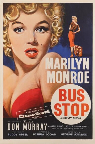 BUS STOP (1956) POSTER, BRITISH