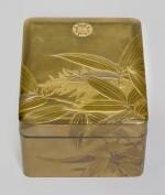 A PRESENTATION LACQUER TEBAKO [ACCESSORY BOX], MEIJI PERIOD, LATE 19TH CENTURY