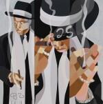 [JAY-Z]; Derrick Adams [artist]. Heir to the Throne, 2021