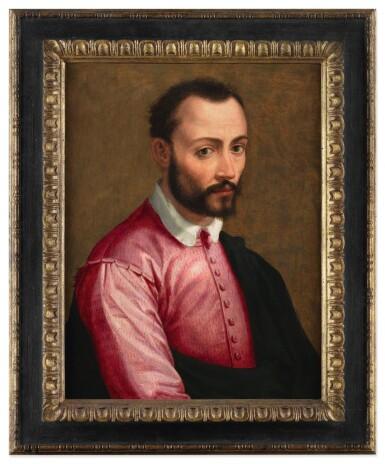 View 3. Thumbnail of Lot 128. JACOPO COPPI, CALLED DEL MEGLIO  |   PORTRAIT OF FRANCESCO I DE' MEDICI (1541 - 1587), HALF-LENGTH.
