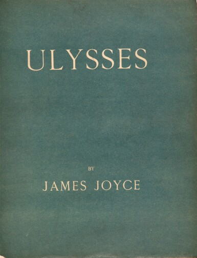 View 2. Thumbnail of Lot 233. JOYCE. Ulysses. Paris, Shakespeare & Company, 1922. Édition originale. 1/150 exemplaires sur vergé d'Arches.