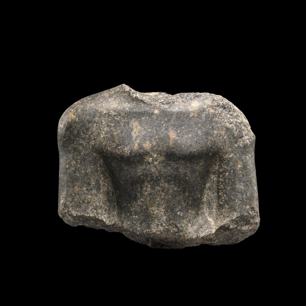 AN EGYPTIAN GRANITE MALE TORSO, LATE PERIOD, 26TH DYNASTY, 664-525 B.C.
