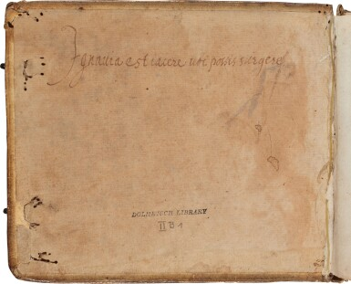 View 3. Thumbnail of Lot 64. Lute. Highly important early seventeenth-century manuscript of Italian and French lute music in French tablature, c.1620.