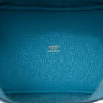 Hermès Bleu du Nord Picotin Lock 18cm of Clemence Leather with Gold Hardware