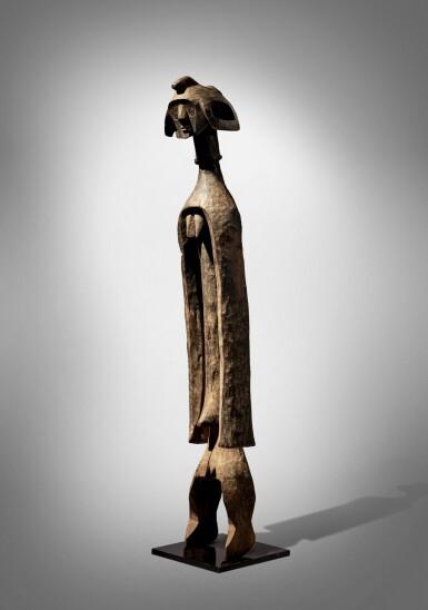 View 2. Thumbnail of Lot 68. Mumuye Statue, Nigeria.
