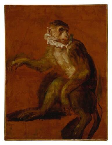 View 1. Thumbnail of Lot 610. A monkey.