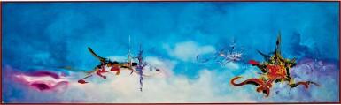 View 1. Thumbnail of Lot 1032. Georges Mathieu 喬治・馬修 | Hommage à Watteau 向華鐸致敬.