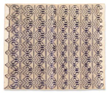 View 12. Thumbnail of Lot 6. Un textile cérémoniel pua et trois nattes, Indonésie | A ceremonial cloth pua and three mats, Indonesia.