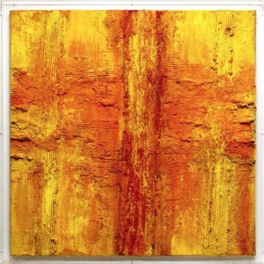 View 2. Thumbnail of Lot 27. Yellow Red Volcano.
