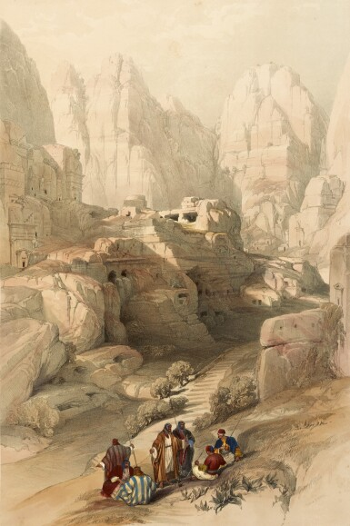 View 3. Thumbnail of Lot 150. ROBERTS   The Holy Land, 1842-1849, 3 volumes, deluxe edition.