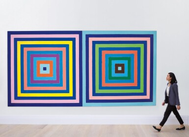 View 5. Thumbnail of Lot 20. Frank Stella 弗蘭克・斯特拉  | Untitled (Double Concentric Square) 無題(雙同心正方形).