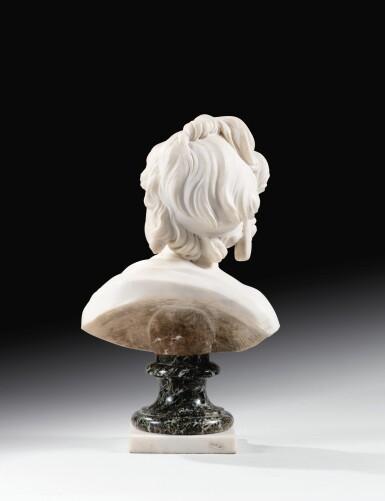 View 3. Thumbnail of Lot 63. Portrait of Constance-Félicité-Victoire-Désirée Vassé, daughter of the artist.