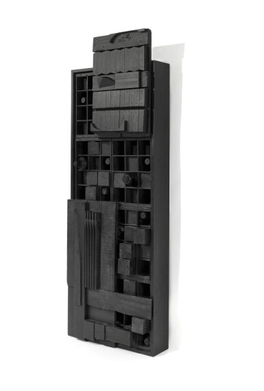 View 2. Thumbnail of Lot 504. LOUISE NEVELSON   WALL RELIEF.