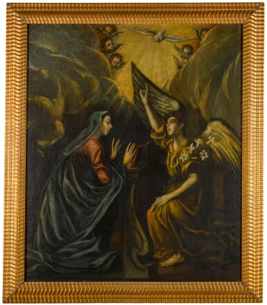 View 2. Thumbnail of Lot 110. The Annunciation.