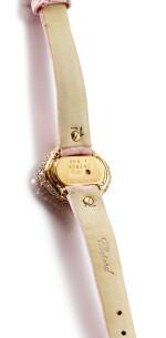 CHOPARD | PUSHKIN, REFERENCE 13/6793-29, A PINK GOLD, DIAMOND AND PINK DIAMOND-SET WRISTWATCH, CIRCA 2000