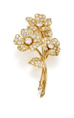 DIAMOND BROOCH, CARTIER   鑽石別針, 卡地亞(Cartier)