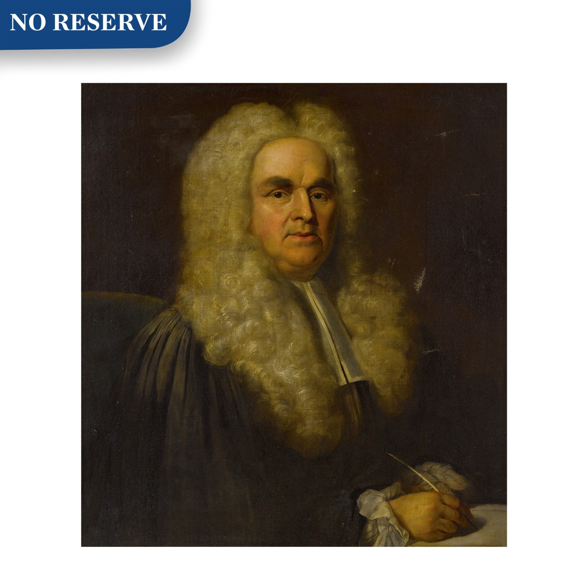 View full screen - View 1 of Lot 109. Portrait of a lawyer, bust-length.