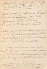 MONTESQUIOU, Robert de. Les Hortensias bleus. 1906. Ex. de Marcel Proust, avec un bel envoi. Prov Guérin.