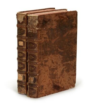 View 6. Thumbnail of Lot 179. Martínez Calderón, Epitome de las historias de la gran casa de Guzman, manuscript dated 1638, 2 volumes.