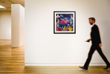 STAR TREK (1993) ORIGINAL ARTWORK AND PUZZLE, US