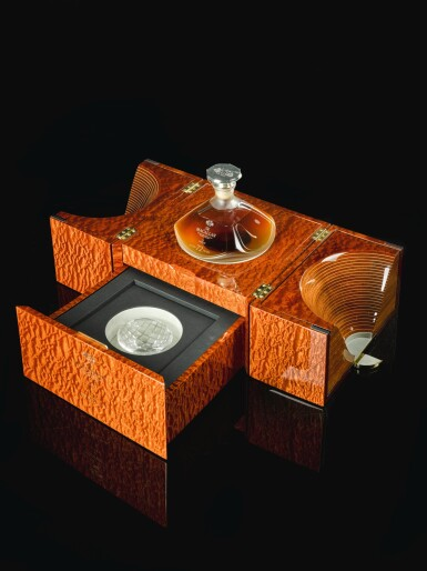 View 3. Thumbnail of Lot 21. The Macallan In Lalique Genesis Decanter 72 Year Old 42.0 abv NV  .
