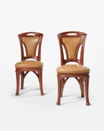 EUGÈNE VALLIN | PAIR OF SIDE CHAIRS