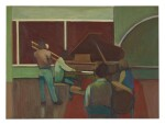 JAMES WEEKS | UNTITLED (GREEN JAZZ ROOM) (#35)