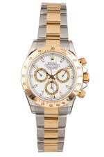 ROLEX | Daytona, Ref 116523  A Stainless Steel and Yellow Gold Chronograph Wristwatch with Bracelet Circa 2001