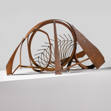 View 3. Thumbnail of Lot 740. SIR ANTHONY CARO, R.A.   TABLE PIECE CCCXLI.